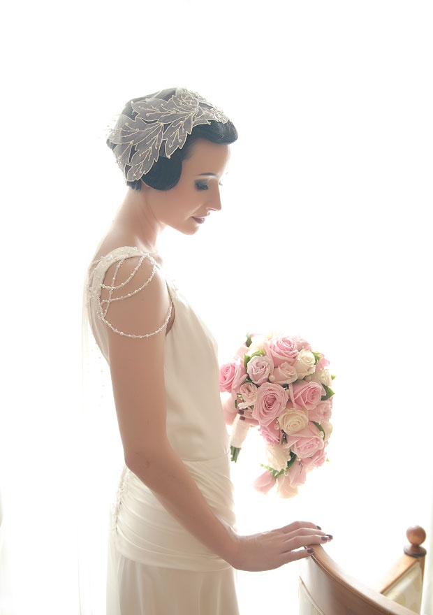 1920s Inspired Veils and Headpieces