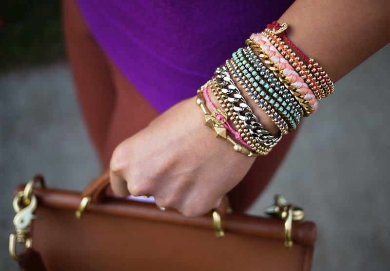 Arm Party: DIY Friendship Bracelets
