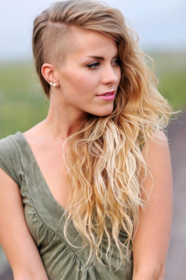 Brilliant 36 Sexy And Hot Half Shaved Hairstyles Sortra Natural Hairstyles Runnerswayorg