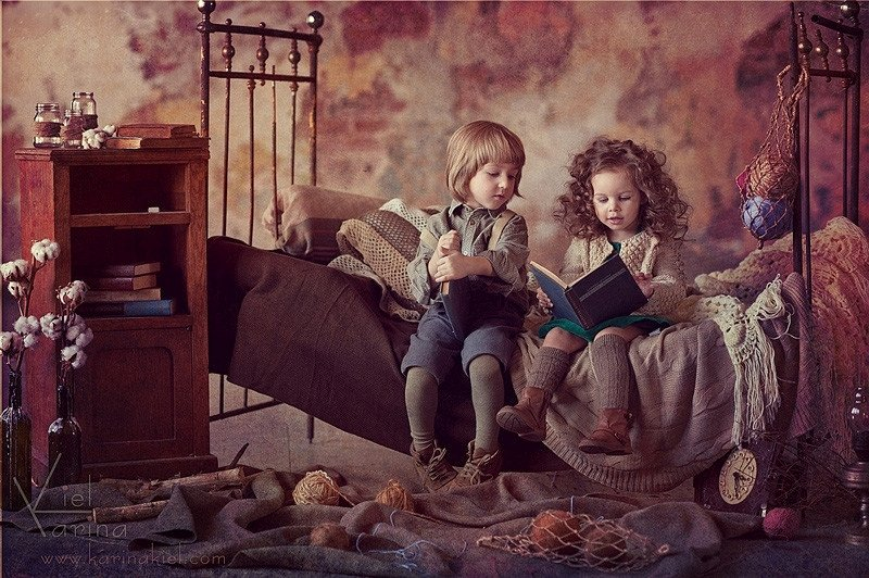 Immaculate Child Portraits by Karina Kiel