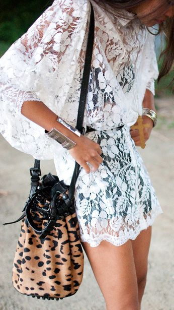 Ladylike Lace Pieces for Your Summer Wardrobe