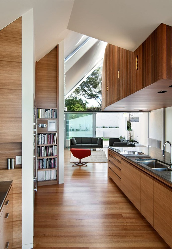 Open Kitchen And Living Room Design