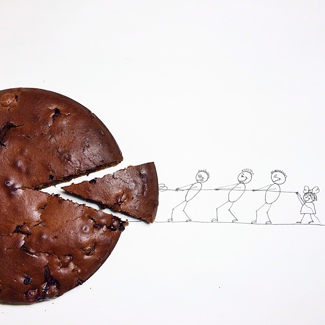 Playful Illustrations Merge with Everyday Objects