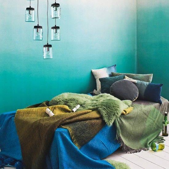 Add a Touch of Ombre to Your Home Decoration