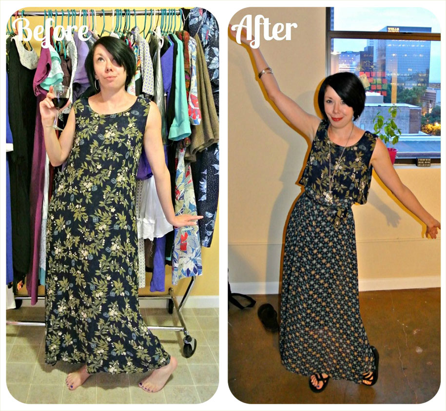 Wardrobe Refashion Projects by Jillian Owens
