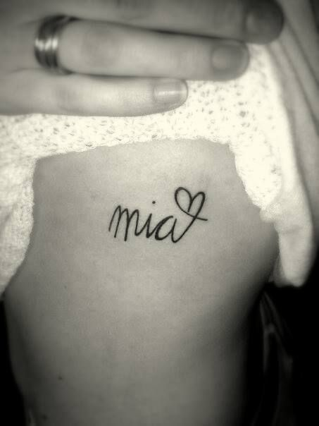 25 Attractive Rib Tattoo Designs