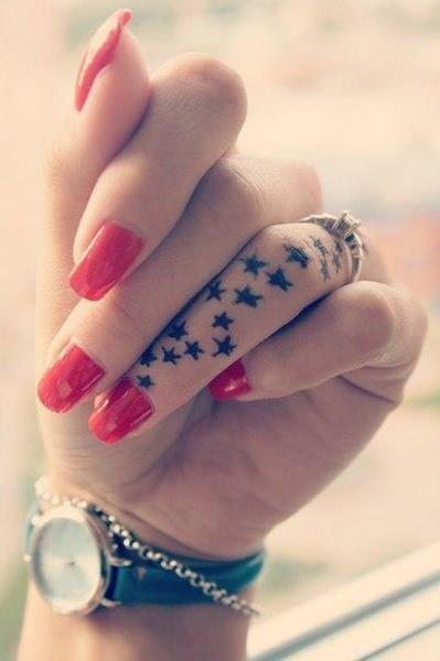 Fabulous Star Tattoo Designs
