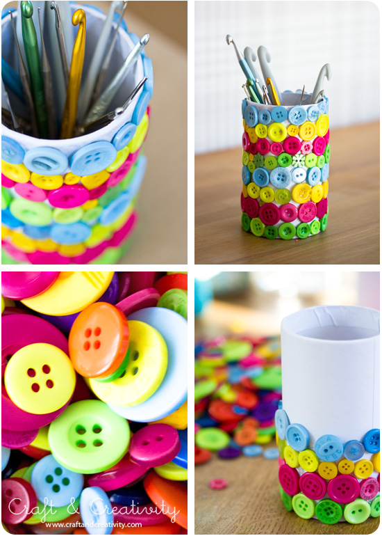 Crafty DIY Projects with Buttons
