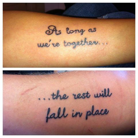 f7fcb4b28 25 Best Matching Tattoo Designs for Couples