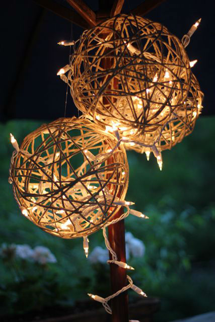 Creative Decoration Ideas with String Lights