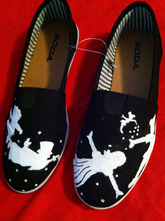 Inspirational Hand Painted Tom Shoes Designs
