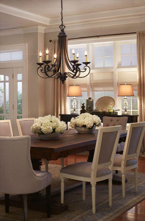 34 Elegant Dining Room Decoration Ideas