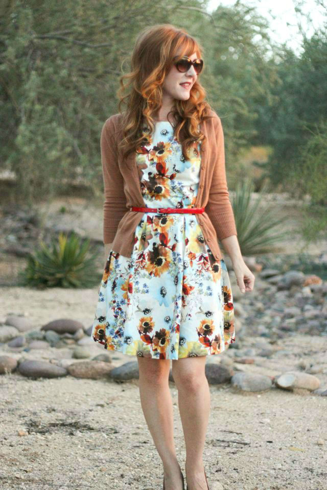 48 Brilliant Floral Outfits for Fall Season