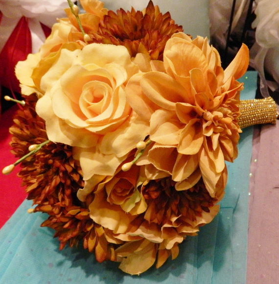 36 Amazing Fall Wedding Bouquets