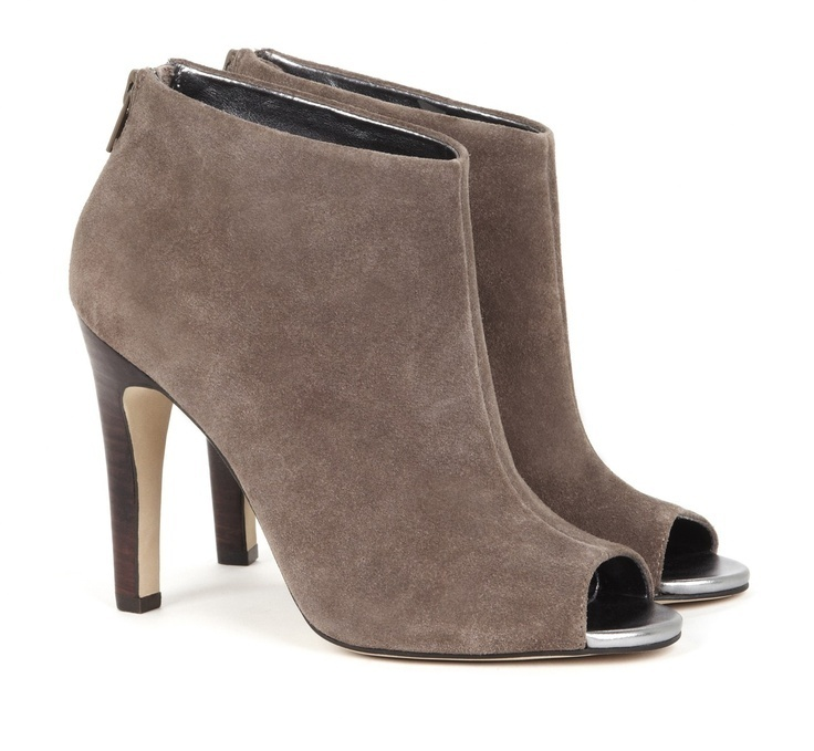 32 Stylish Open Toe Booties for Fall