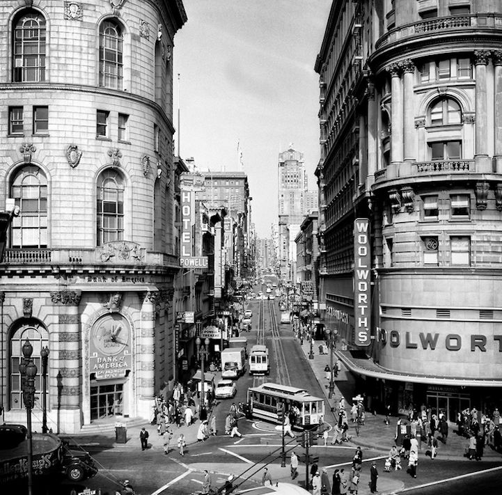 Magnificient Black and White Portraits of San Francisco