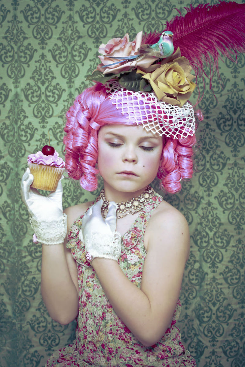 9 Year-Old Little Alice Dresses Up Like Famous Characters