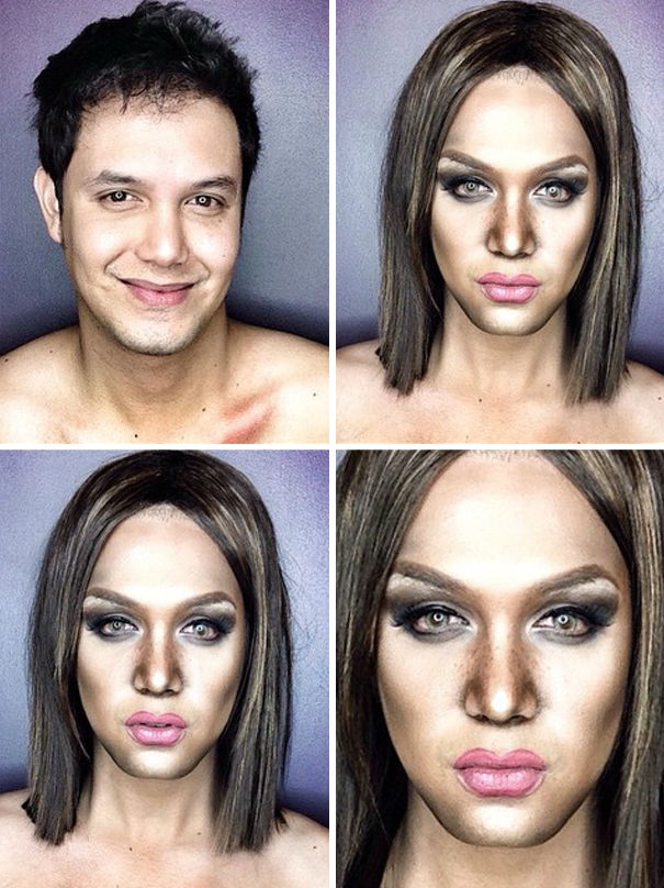 Makeup Artist Can Turn Himself Into Hollywood Celebrities