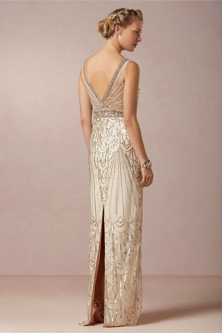 07825ebad5c 46 Great Gatsby Inspired Wedding Dresses and Accessories