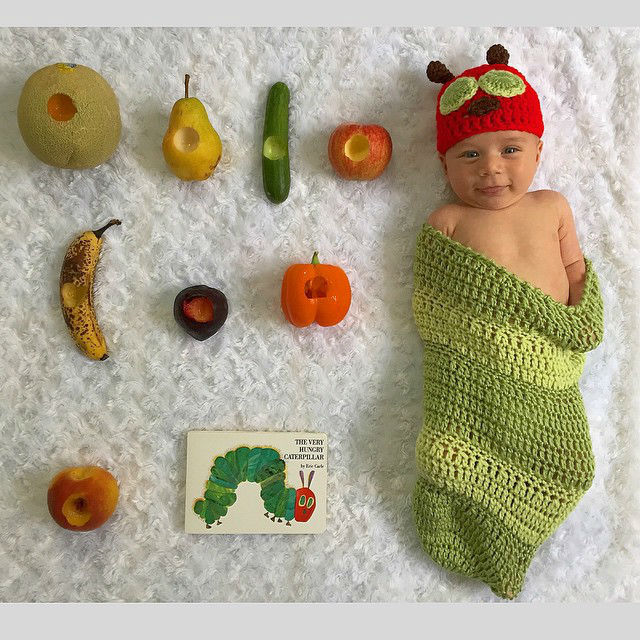 Mom Dresses Her Baby Son in Fancy Halloween Costumes