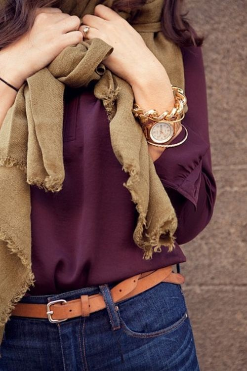 53 Extremely Cool Outfits with Scarf