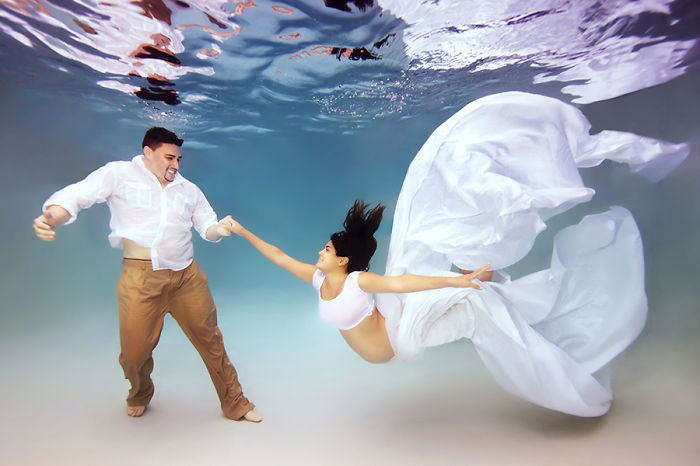 Underwater Maternity Photography by Adam Opris