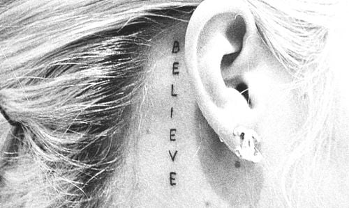 375f037a6 41 Cool Behind the Ear Tattoo Designs