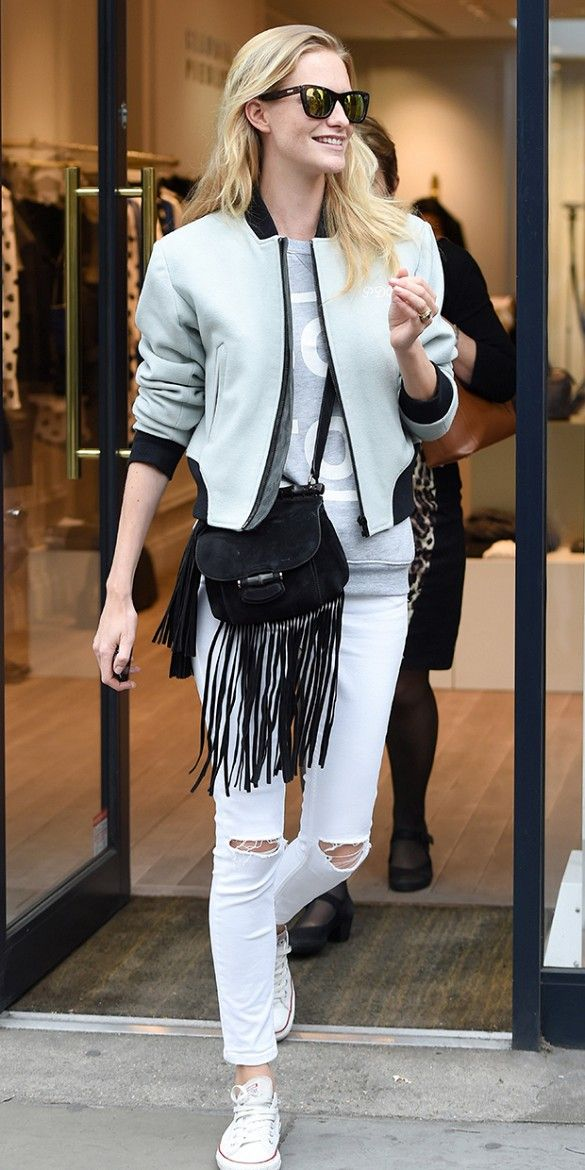 40 Stylish Outfit Ideas with Bomber Jacket