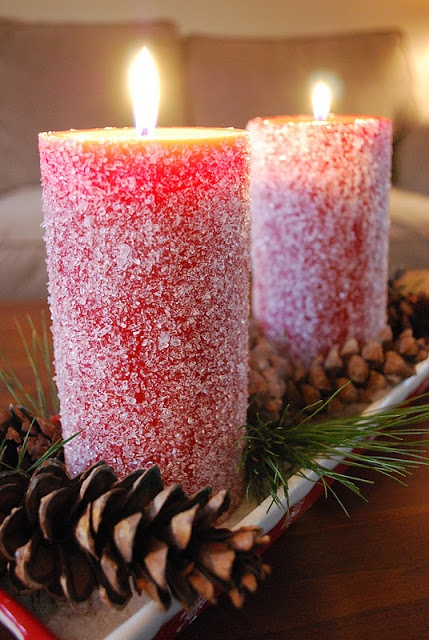 30 Pretty Candle Decoration Ideas for Thanksgiving