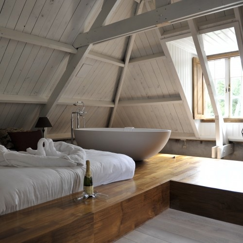 Bon 29 Ultra Cozy Loft Bedroom Design Ideas