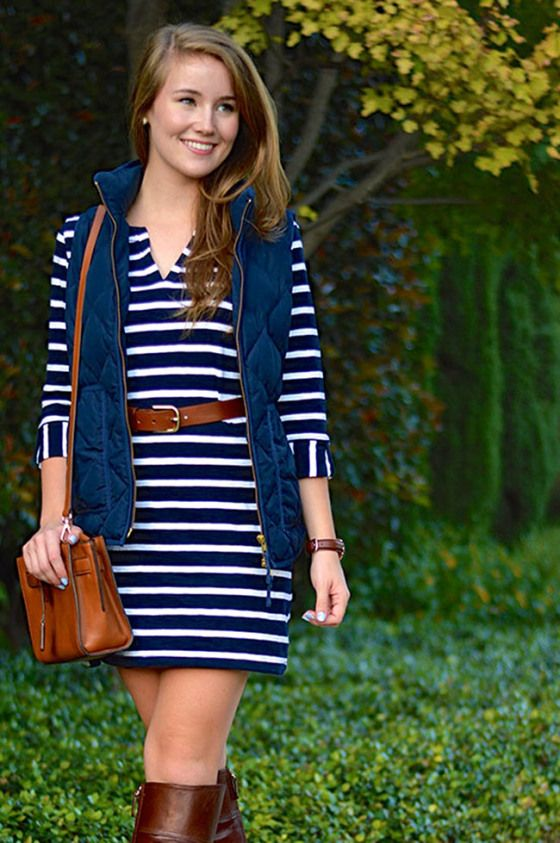 40 Cool Outfit Ideas with Puffy Vest