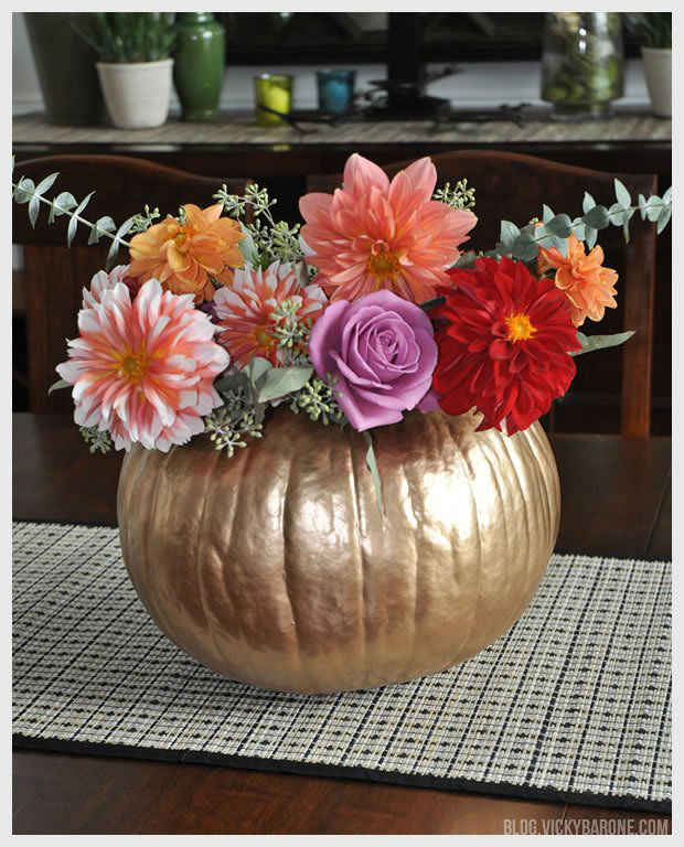 14 Crafty Tutorials for Thanksgiving Table Decoration