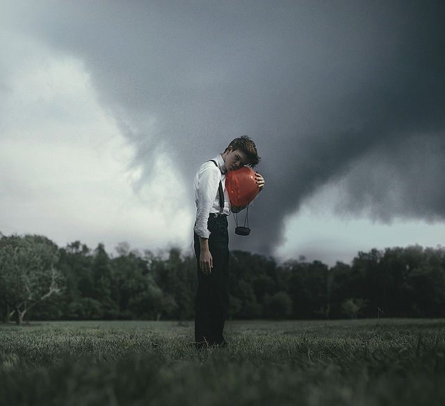 Strong Emotions Captured in Surreal Images