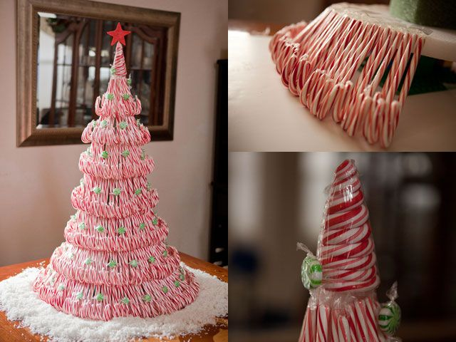 Christmas Candy Decorations.38 Candy Cane Inspired Christmas Decorations