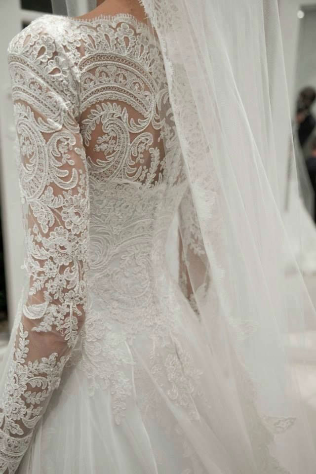 48 Elegant Long Sleeve Wedding Dresses for Winter Brides