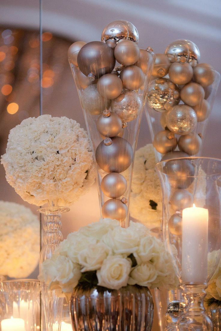 37 Gorgeous Winter Wedding Ideas in Silver Theme