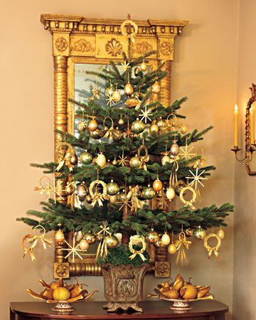 35 Beautiful Table Top Christmas Tree Decorations