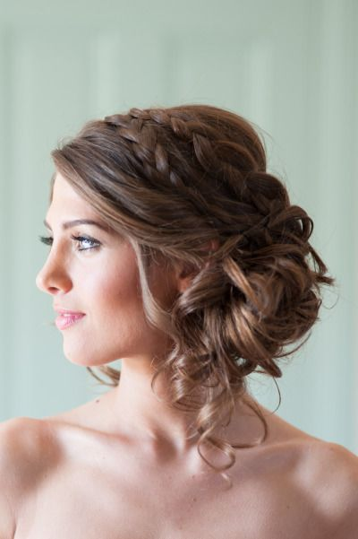 39 Elegant Updo Hairstyles for Beautiful Brides