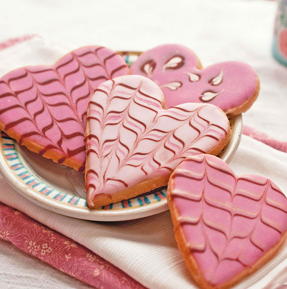 53 Lovely Decoration Ideas for Valentines Cookies