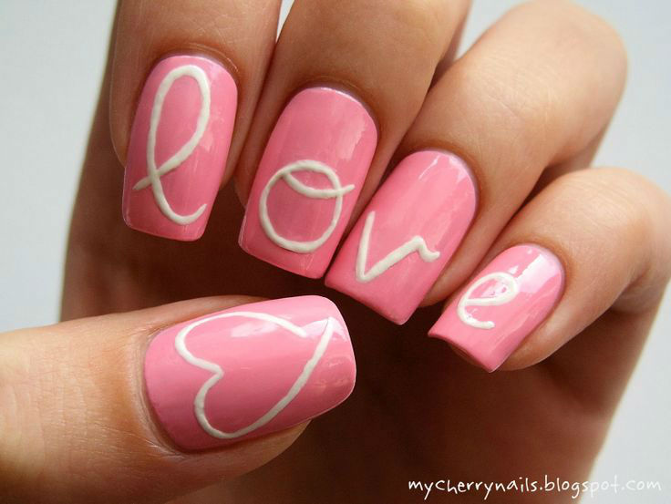 36 Cute Nail Art Designs For Valentine S Day