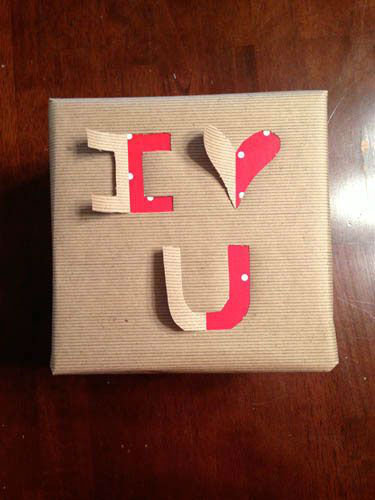 30 DIY Gift Wrapping Examples for Valentines Day