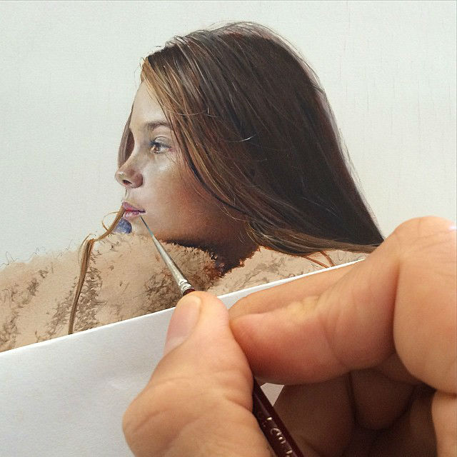 Astonishing Photorealistic Paintings by Michael Zavros