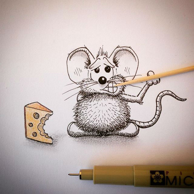 Super Cute Mini-Drawings That Will Make Your Day
