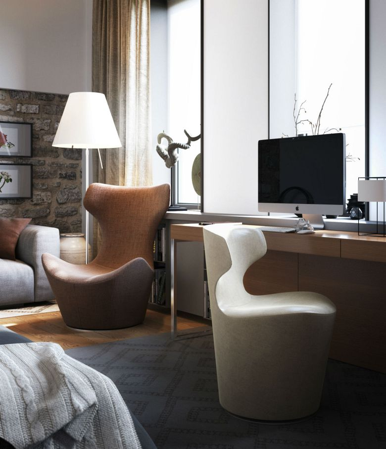 Apartment In Odessa by S&T Architects