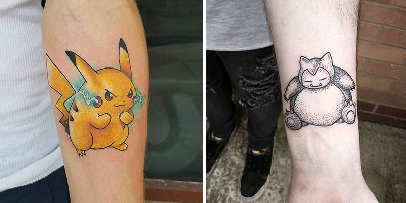 27d673b33 17 Pokemon Tattoos Which Will Throw You Back to Your Childhood
