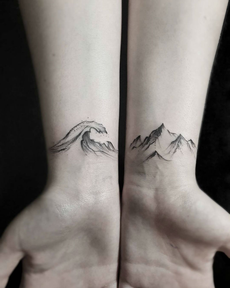 Stella Luo Creates Mesmerizing Minimalist Tattoos