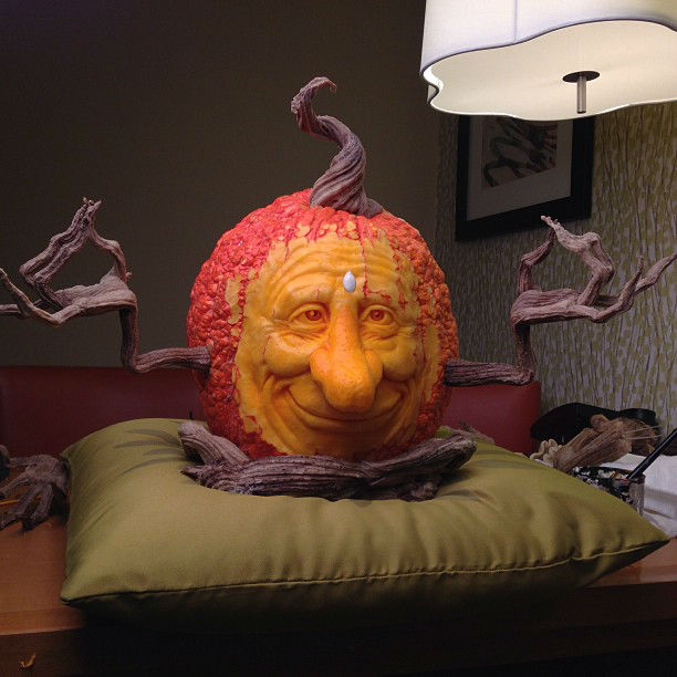 Ray Villafane Creates Insanely Realistic Pumpkin Sculptures