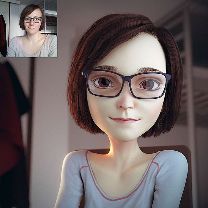 3D Cartoon Pics of Anyone in the World