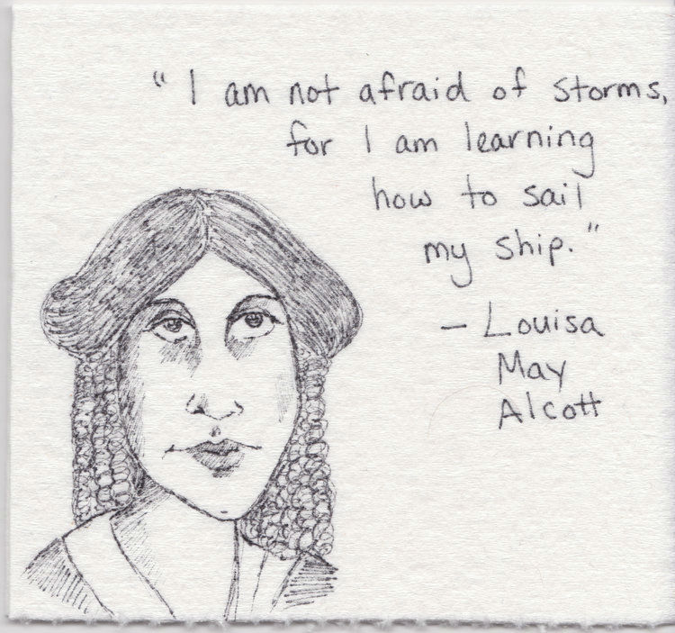 Mom Inspires Her Daughter with Lunchbox Napkin Drawings of Histories Greatest Women
