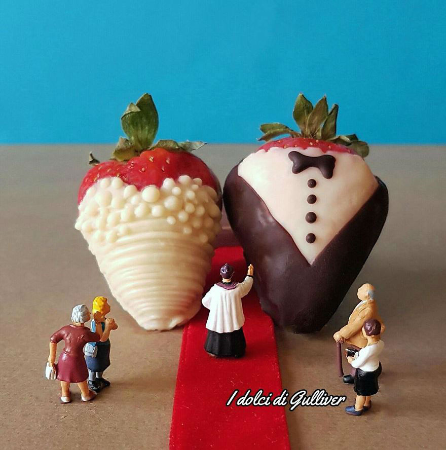 Talented Chef Creates Stunning Miniature Worlds Out of Desserts